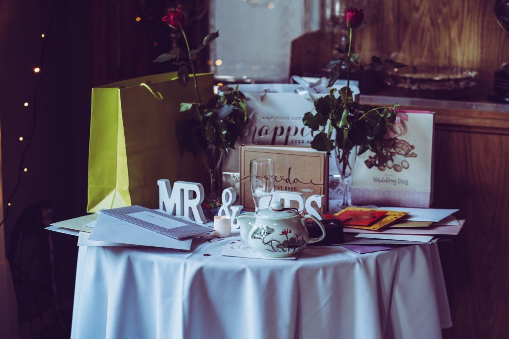 Gifts During Wedding